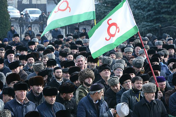 После подписания соглашения в Ингушетии прошли массовые митинги.