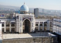 Крупнейшая в Центральной Азии мечеть откроет свои двери в 2019 году