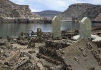 Могилу одного из пророков обнаружили в Турции после прорыва дамбы
