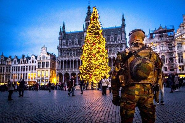 В Европе усилены меры безопасности.