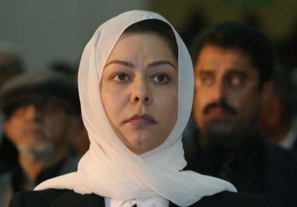 Дочь Саддама Хусейна Рагад.