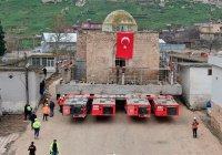 В Турции мечеть распилили на части, чтобы сохранить (Фото, видео)