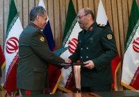 Россия и Иран подписали соглашение о военном сотрудничестве на 2019 год