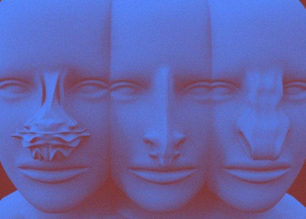 Дизайнер и аспирант Академии изящных искусств в польском Гданьске решила визуализировать, как нос человека будет адаптироваться под климат Красной планеты