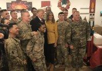 Трамп посетил американскую военную базу в Ираке