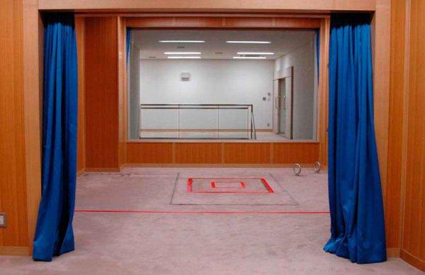 Комната для приведения в исполнение смертной казни в Японии.