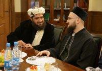 Муфтий встретился с председателем Совета улемов Афганистана