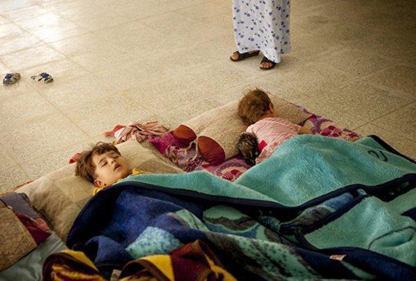 В Сирии и Ираке продолжают оставаться сотни российских детей.