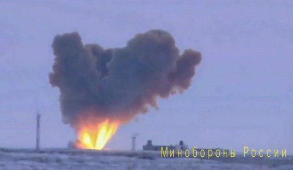 Кадры испытания новейшей гиперзвуковой ракеты.