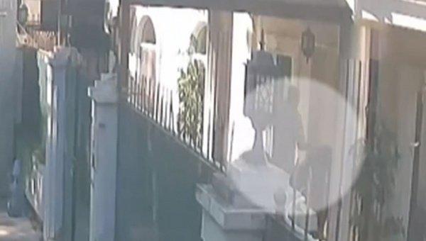 Кадры с опубликованной видеозаписи.
