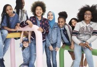 Хиджаб стал частью рекламной кампании модного бренда