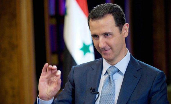 Башар Асад (© AP Photo, SANA via AP, File)