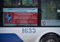 Милиционер оказался в числе первых оштрафованных за плевки в Киргизии