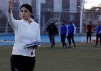 Жительница Сирии стала первой женщиной-тренером мужской команды