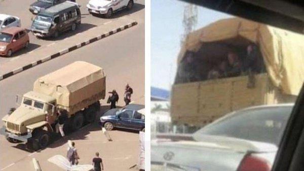 Фото из материала о российских наемниках в Судане.