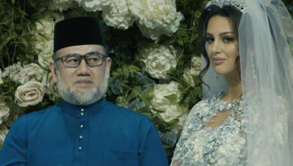 Свадьба россиянки с малазийским королем состоялась 22 ноября.