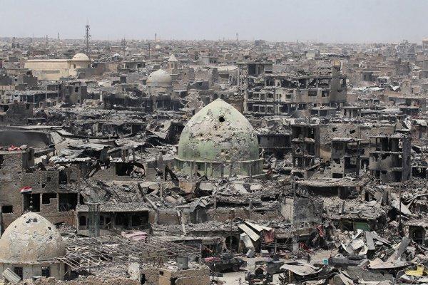 Ирак оказался практически полностью разрушенным.