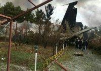 Новые подробности авиакатастрофы в Иране: самолет упал на жилой район