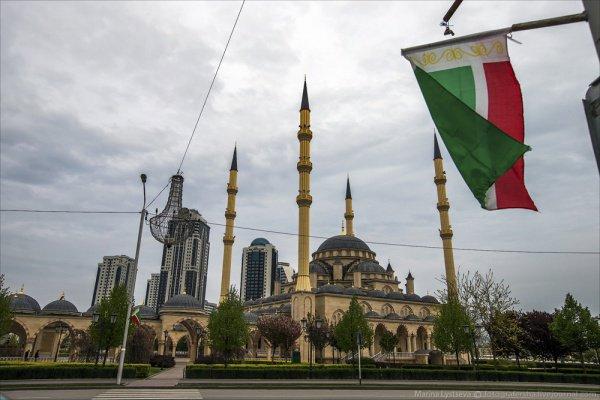 В Чечне ведется активная работа по строительству мечетей.