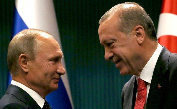 Президенты России и Турции встретятся 23 января.