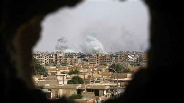 Курдские силы добивают остатки ИГ на востоке Сирии