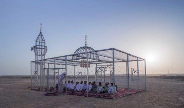Необычная мечеть.