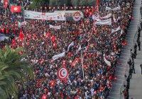 Общенациональная забастовка началась в Тунисе