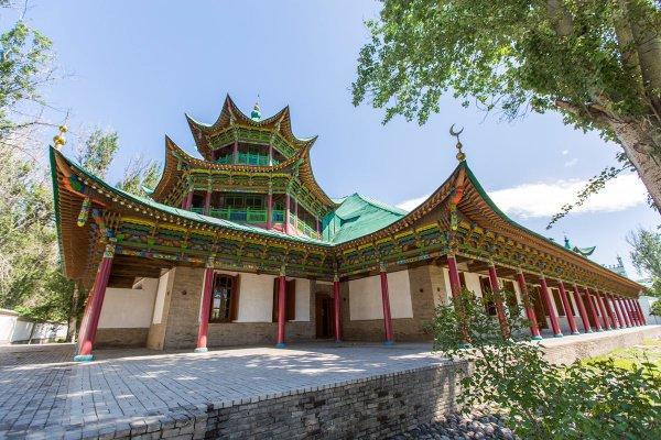Мечеть, построенная без единого гвоздя