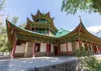 Мечеть в китайском стиле, построенная без единого гвоздя!