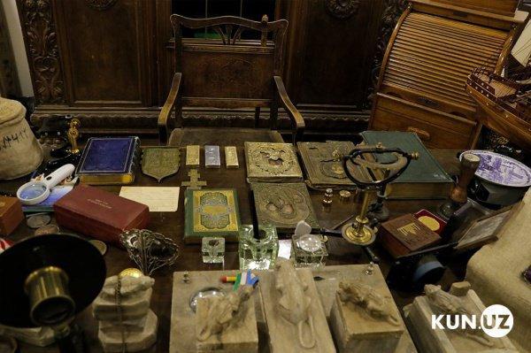 Найденные в Ташкенте артефакты.