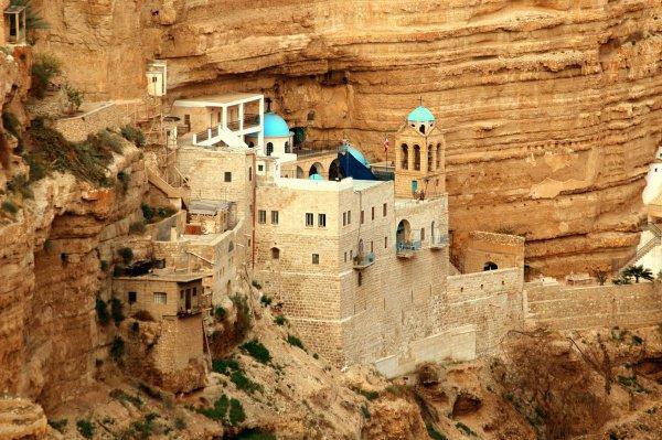 Монастырь Искушения, Иерихон, Палестина.
