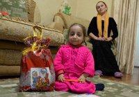 Самая маленькая девочка из Чечни может попасть в Книгу рекордов