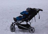 Медики советуют отказаться от прогулок с младенцами в морозы