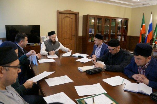 Собрание прошло под председательством муфтия Республики Татарстан.