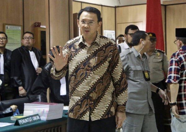 Басуки Чахай Пурнама провел в тюрьме полтора года.