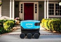 Компания Amazon тестирует беспилотного робота-доставщика (ВИДЕО)