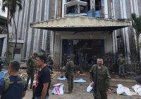 Взрыв в церкви на Филиппинах унес жизни 20 человек