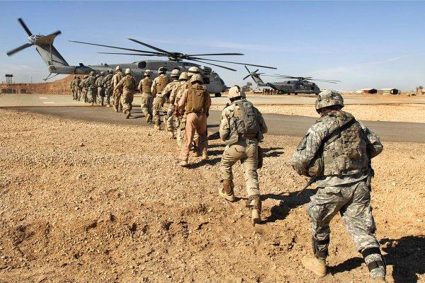 В Сирию прибыл спецназ, ликвидировавший бен Ладена.