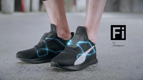 Обувь Puma Fi имеет систему, которой можно управлять со смартфона