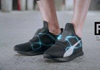 Бренд Puma выпустил кроссовки, которые шнуруются сами (ВИДЕО)