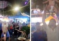 Российскую пару, жонглировавшую ребенком, задержали в Малайзии