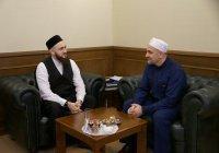 Муфтий принял гостей из Дагестана, Казахстана и Саратова