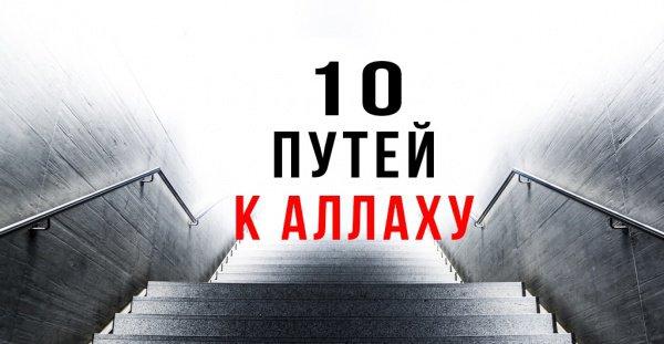 10 принципов для тех, кто ищет Путь к Аллаху
