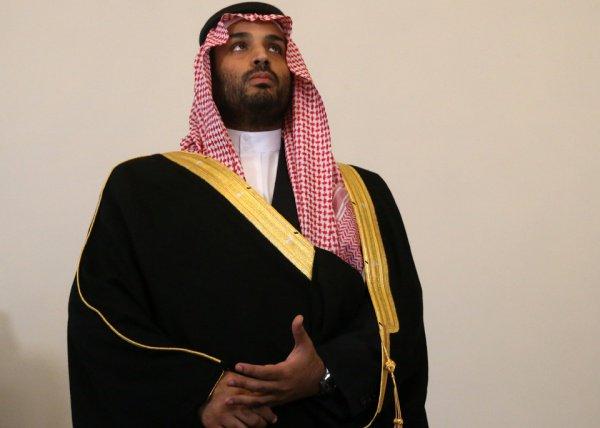 Принц Мухаммед бин Салман.