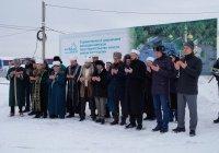 Муфтий РТ дал официальный старт началу строительства мечети в Залесном
