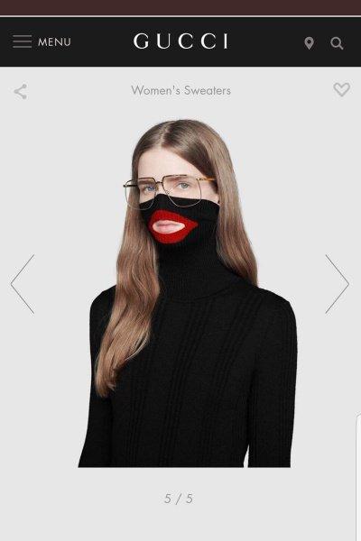 Скандальный свитер сняли с продажи.
