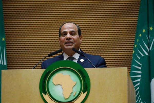 Абдель Фаттах ас-Сиси на саммите Африканского союза.