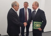 Путин поблагодарил Шаймиева за восстановление Болгара и Свияжска