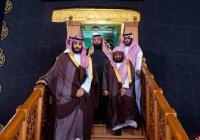 Принц Мухаммед посетил Запретную мечеть