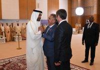 Рустам Минниханов опубликовал фото с наследным принцем Абу-Даби
